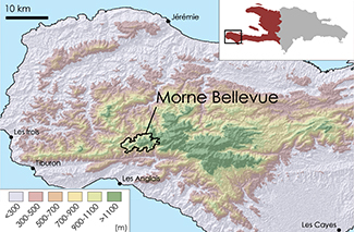 Bellevue Topographic Map 1
