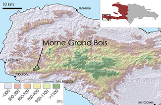 Grand Bois Topographic Map 1