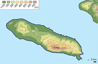 La Gonâve Topographic Map 2
