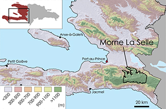 La Selle Topographic Map 1