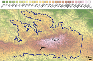 La Selle Topographic Map 2